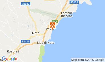 Map Avola Villa 106920