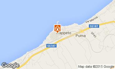 Map Trappeto Apartment 62510