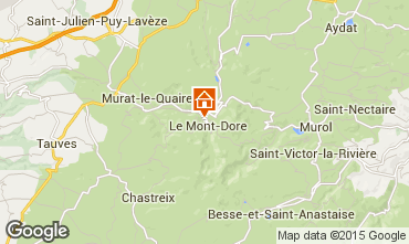 Map Le Mont Dore Apartment 50842