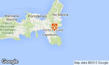 Map Capoliveri Apartment 36656