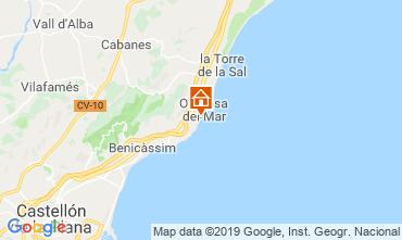 Map Oropesa del Mar Apartment 118253