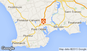Map Pont l'Abb� Mobile home 53456