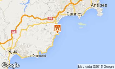 Map Théoule sur Mer Villa 78968