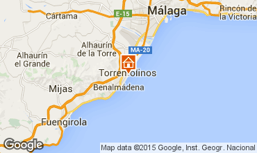 Map Torremolinos One-room apartment 32036