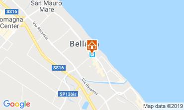 Map Bellaria Igea Marina Apartment 118340