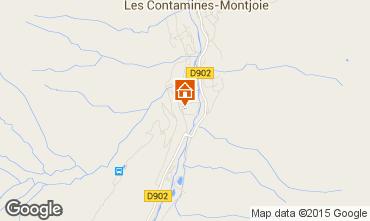Map Les Contamines Montjoie One-room apartment 35075
