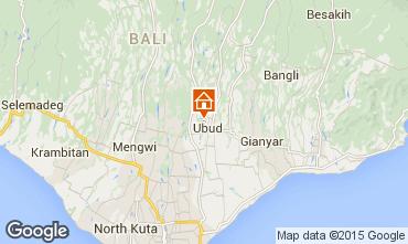 Map Ubud House 41763