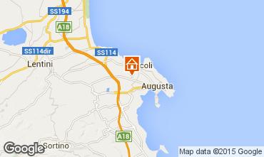Map Brucoli Villa 93245