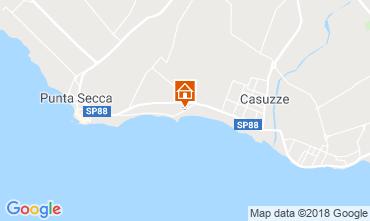 Map Marina di Ragusa Villa 116102