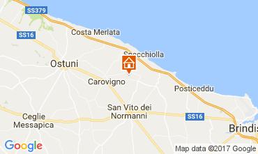 Map Ostuni Villa 109407