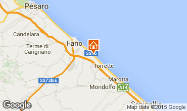 Map Fano Apartment 86087