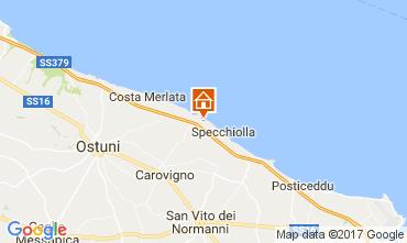 Map Ostuni Villa 85084