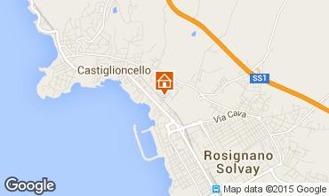 Map Castiglioncello Apartment 96820