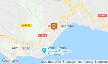 Map Almuñecar Apartment 116078