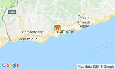 Map Sanremo Villa 117828