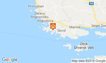 Map Rogoznica House 117487