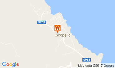 Map Scopello Apartment 107603