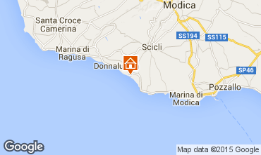 Map Donnalucata Apartment 102083