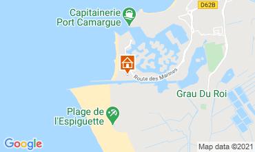 Map Le Grau du Roi Apartment 104513