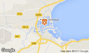 Map Port Grimaud House 9087