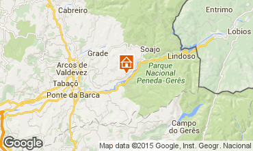 Map Arcos de Valdevez Vacation rental 62019