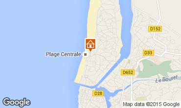 Map Hossegor Apartment 6463