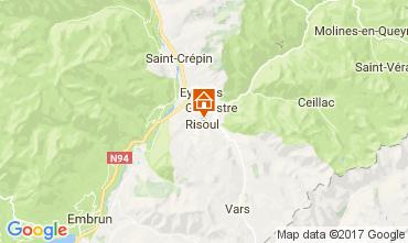 Map Risoul 1850 Apartment 112680