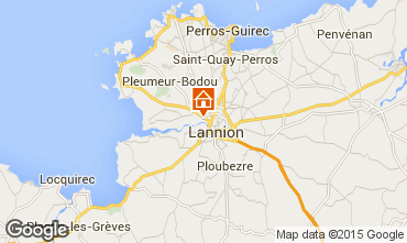 Map Lannion One-room apartment 11735