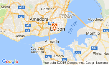 Portugal Vacation Rentals - Portugal estremadura map