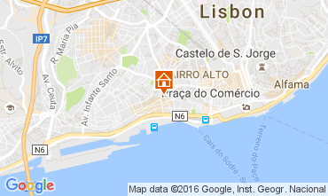 Map Lisbon Apartment 106237