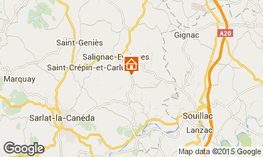 Map Salignac-Eyvignes House 83784