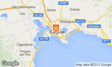 Map Cagliari Apartment 70159