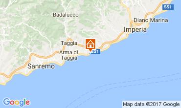 Map Santo Stefano al Mare One-room apartment 57081
