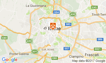 Map Rome Apartment 112771