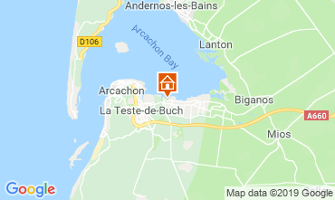 Map Arcachon Mobile home 93639