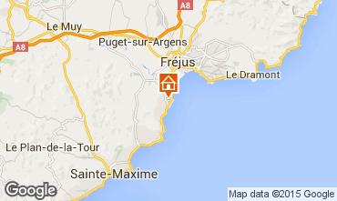 Map Saint Aygulf Mobile home 40163