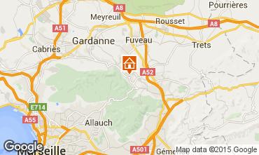 Map Aix en Provence House 81946