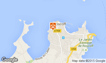 Map Roscoff One-room apartment 40310