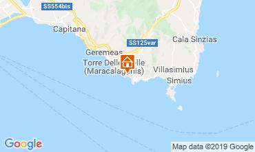 Map Solanas Villa 58936