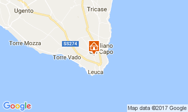Map Santa Maria di Leuca Apartment 110250