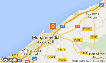 Map Mohammedia Apartment 52046