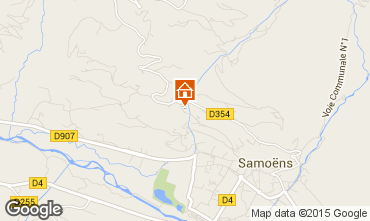 Map Samoëns Apartment 70508