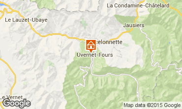 Map Pra Loup Apartment 2336