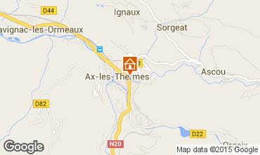 Map Ax Les Thermes Apartment 52894