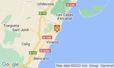 Map Vinaròs Villa 114824