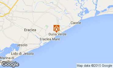 Map Caorle Apartment 20841