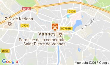 Map Vannes Apartment 78927