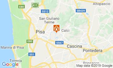 Map Pisa House 118175