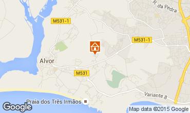 Map Alvor Apartment 39993