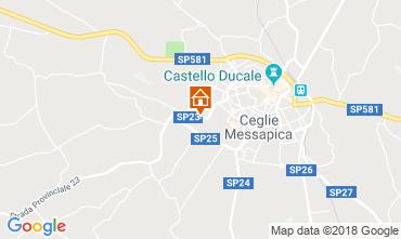 Map Ceglie Messapica Villa 117490